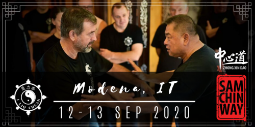 NEW DATE!!! [12-13 SEP 2020] GM Sam Chin (Modena, IT)