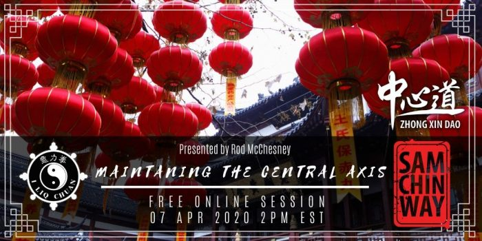 Free Online Session - Maintaining the Central Axis by Rod McCeshney