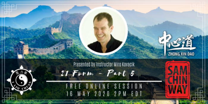 Free Online Session - 21 Form Part 5 Presented by Miro Kovacik