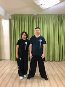 I Liq Chuan students in Kazakhstan