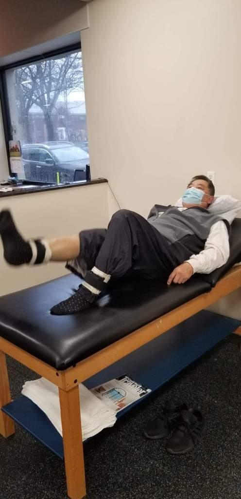 GM Chin strengthening his knee