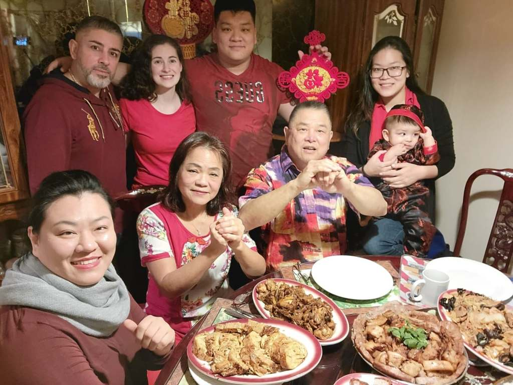 GM Sam Chin and family - Chinese New Year 2021