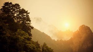 sunrise at Wudang