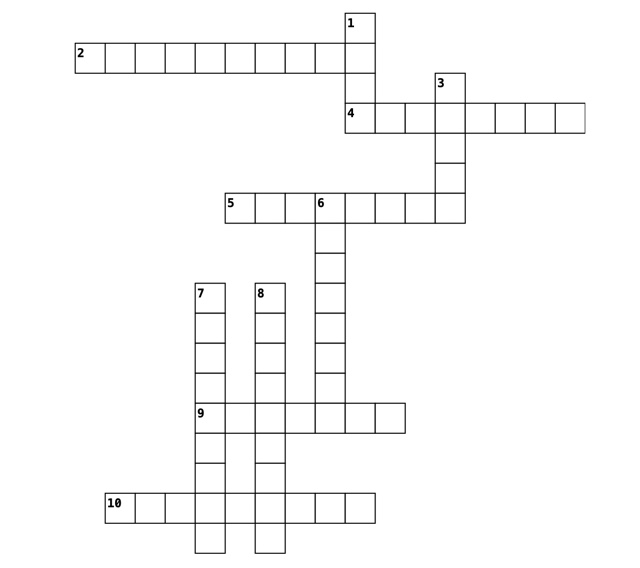 May 2021 Crossword