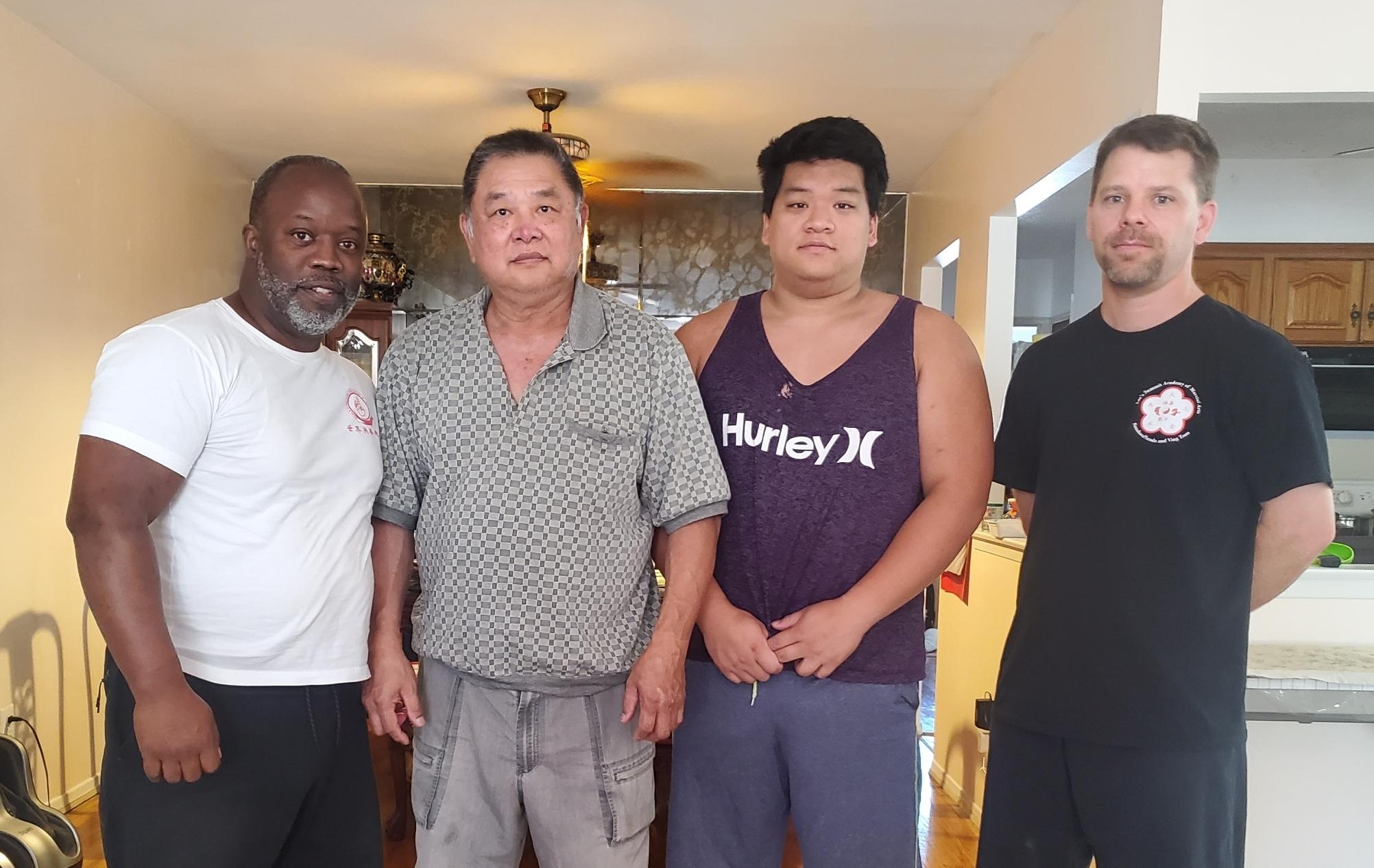 Sifu Anael-bey and Sifu McKillip pay visits to GM Chin